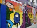Street Art in London - Monsters 2