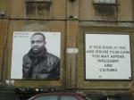 Street Art in London 2 - snobism in the arts