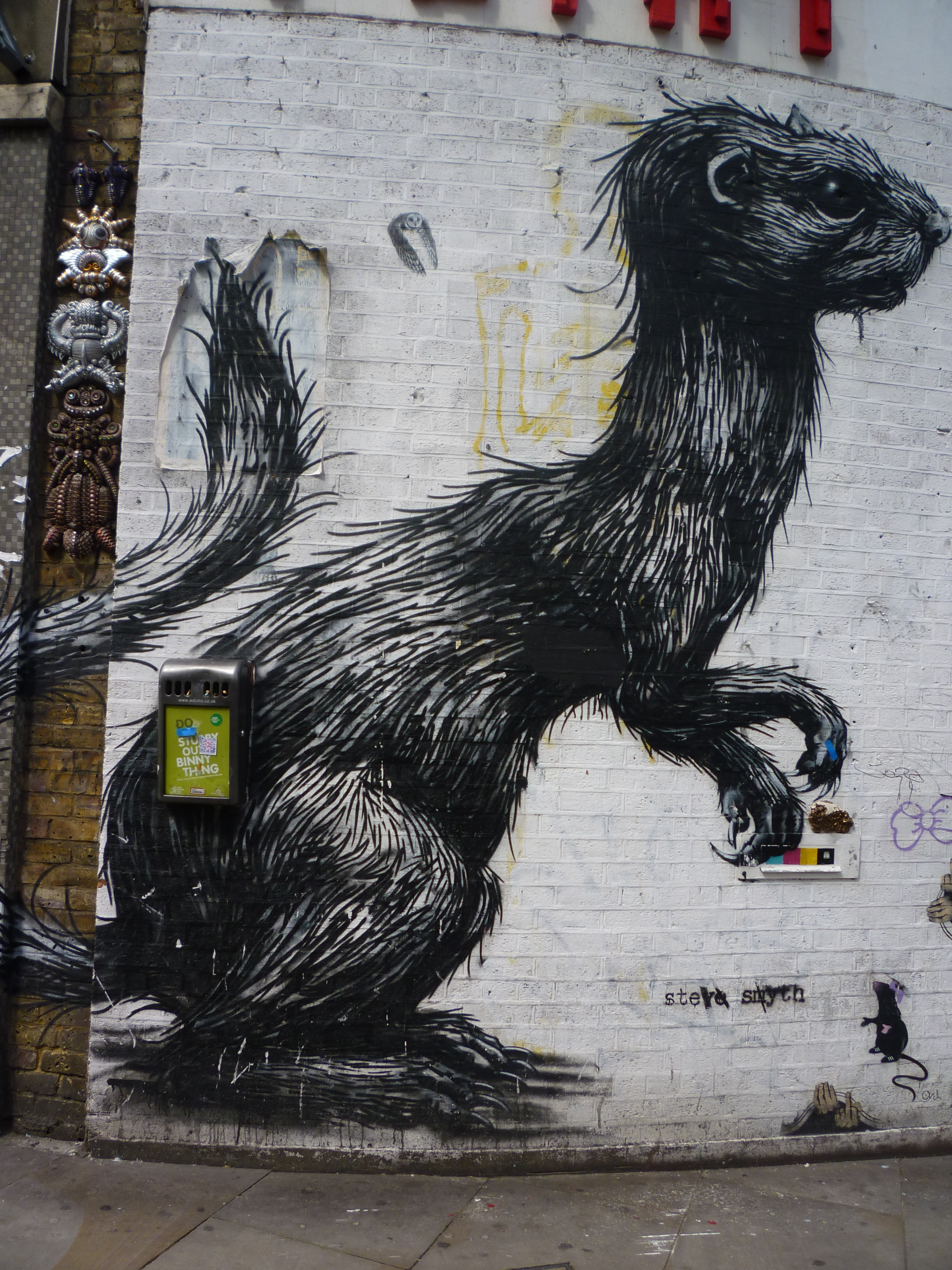 Street Art In London 2 A Londoner From Afar