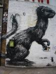 Street Art in London - Roa!