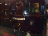 Night at the Museum in London - to Moorgate