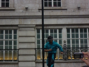 Circus in London Streets  - some salsa