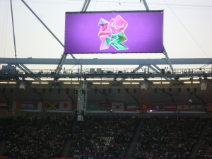 Watching the `Super Humans´- Paralympics 2012