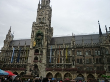 A Londoner from Afar Goes to Munich1 - New Townhall, Marien Platz 1