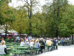 A Londoner from Afar Goes to Munich - The Chinese Tower and Beer Garden