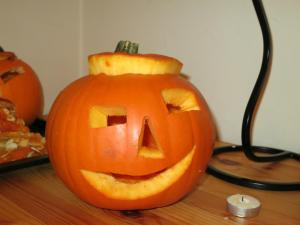 Pumpkin carving in London - our work4