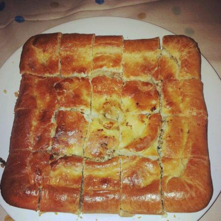 `Empanada´ with meat and apple