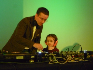 A Cultural House Warming Party - Alexis Taylor & little helper