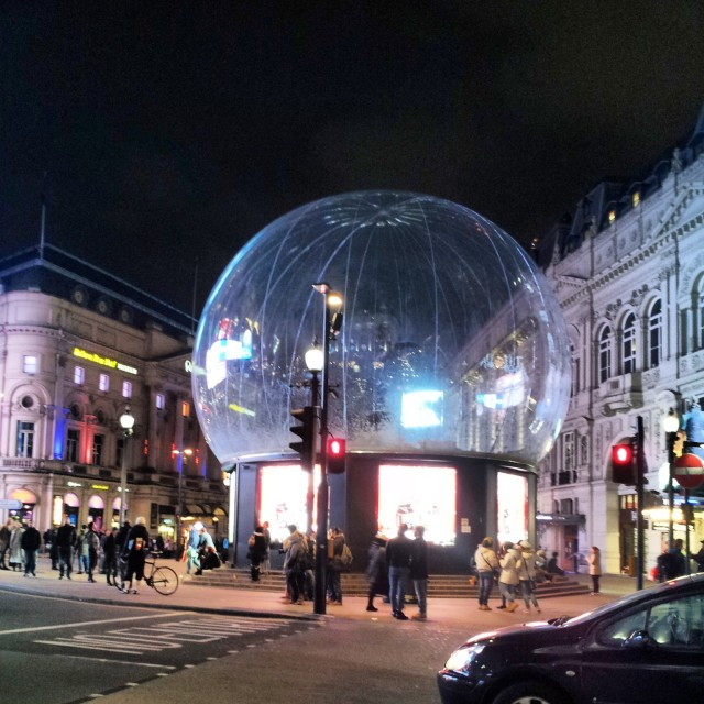 Christmas Lights and Decorations in London - Piccadilly