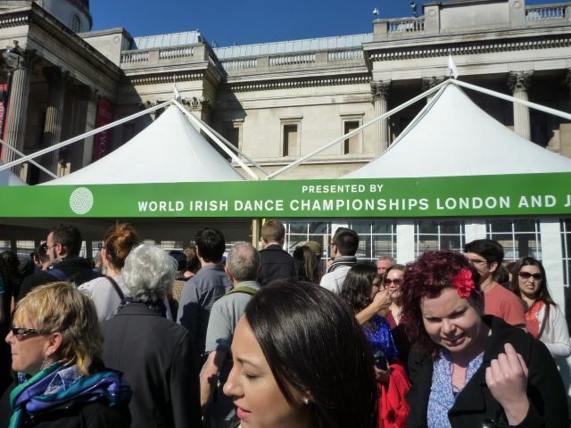 Irish Dancing at St Patrick's Day in London