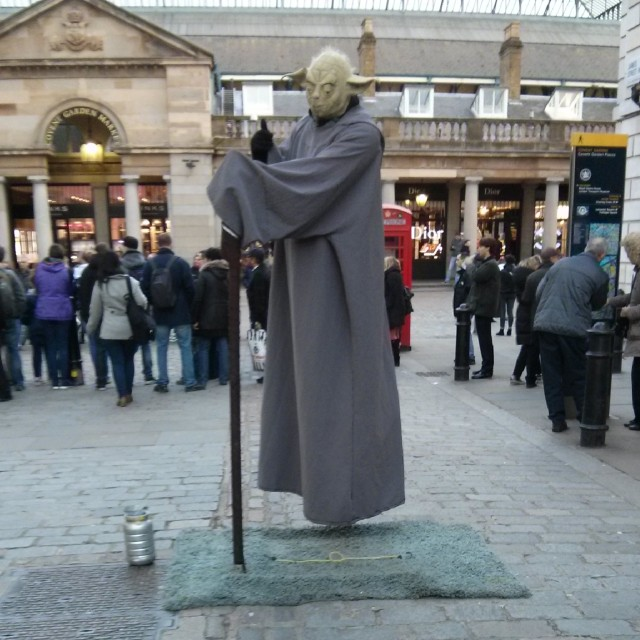 Picture Wednesday - Yoda in Convent Garden