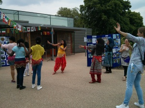 Community Festivals in London - Bollywood dance practice