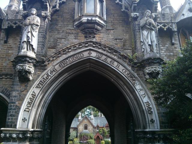Hidden Gems in London. A Bit of Gothic