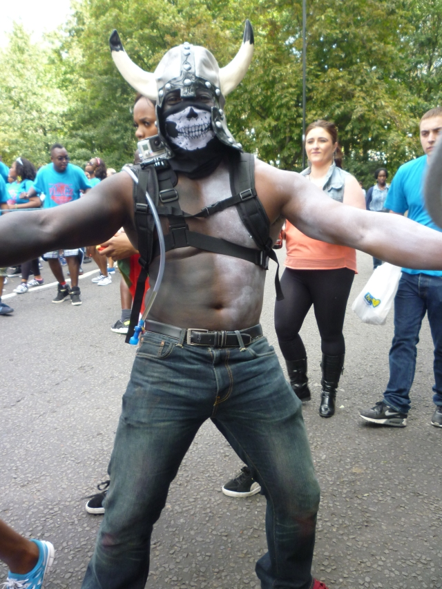 Colour and Rythm at the Notting Hill Carnival 2014